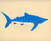 Limited edition screen print: Whale Shark