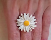 adjustable Daisy Ring daisy earrings