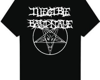 Black Metal Illegible Band Name T-Shirt