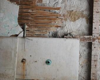 photographic print: Edith Wharton's kitchen in Lenox