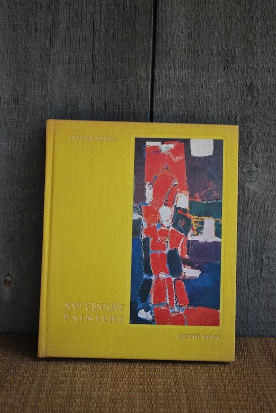 vintage book: XXth Century Painters from Cubism to Abstract Art