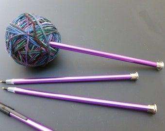 Refillable Knitting Needle Ballpoint Pen