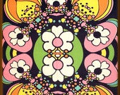 RESERVED for Michail G. - Peter Max Vintage Full Size Bedspread