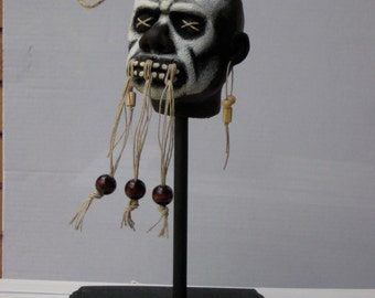 Make-Your-Own Shrunken Head Voodoo Witch Doctor Kit