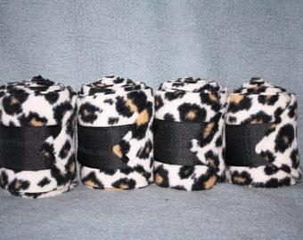 Cheetah Polo Wraps (set of four)