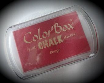 Full Size ColorBox Fluid Chalk Inkpad - Rouge