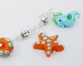 Ready for Summer Fun with this Sea Creature Bracelet.  Free Shipping in US