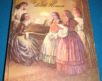 1986 Copy of Little Women by Louisa Alcott, Junior Illustrated Library