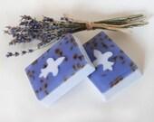 Lavender Bud Fleur-de-lys Shea Butter Soap