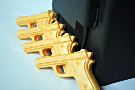 Slippery Pistol Golden Gun Soaps