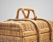 Wicker Picnic Basket - Etsy Front Page Item