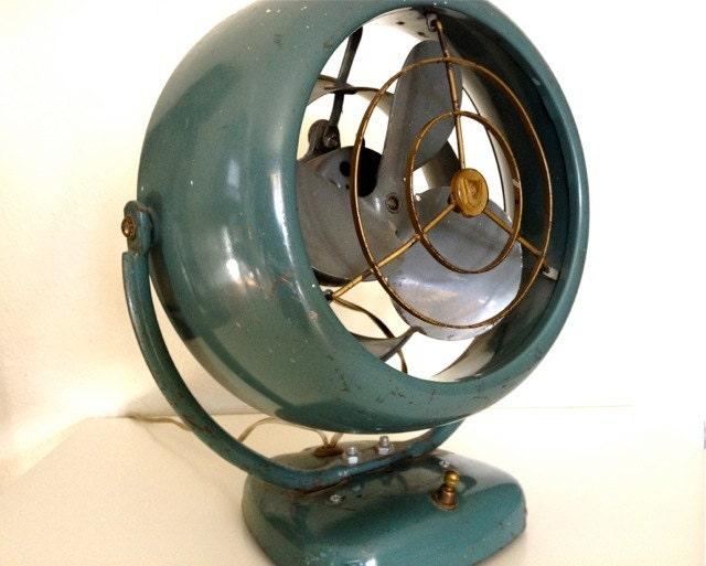 Reserved for heather vintage vornado fan 1950s by charliesnest