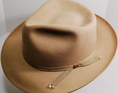 Thoroughbred Custom Made Thin Ribbon Fedora Silverbelly Beaver Blend 6 7/8