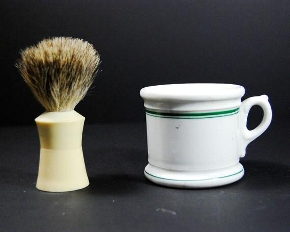 Jackson China Shaving Mug Made For Standard Equipment Company