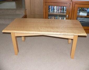 Quartersawn Oak Coffee Table