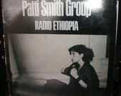 Patti Smith Radio Ethiopia Arista 1976 Plus Bootleg Album 1975