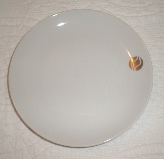 Northwest Orient Airline Snack or Bread Plates Set of Eight