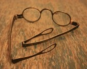 RARE Antique Folding Spectacles - Glasses - Industrial - Steampunk - BrandosFunkyFinds