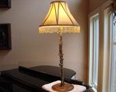 Metal Clarinet Lamp