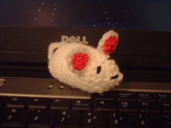 Amigurumi Mouse Cat Toy : Small Crochet Cat Toy Plush Mouse Amigurumi Stuffed by MABToys