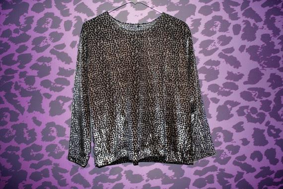 SALE % Velvet Cheetah Shirt