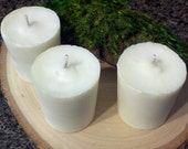 100% Natural Soy Aromatherapy Candles, Refreshing scent, Three Count
