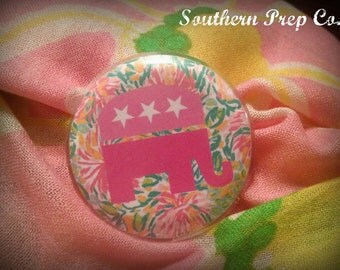Lilly Inspired Republican Pin