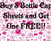 Buy 3 Bottle Cap Sheets and Get 1 FREE