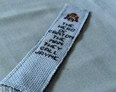 Jayne Cobb Hero of Canton Firefly Serenity Cross Stitch Bookmark