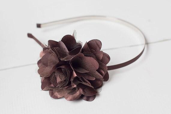 Chocolate Brown Jillian Headband
