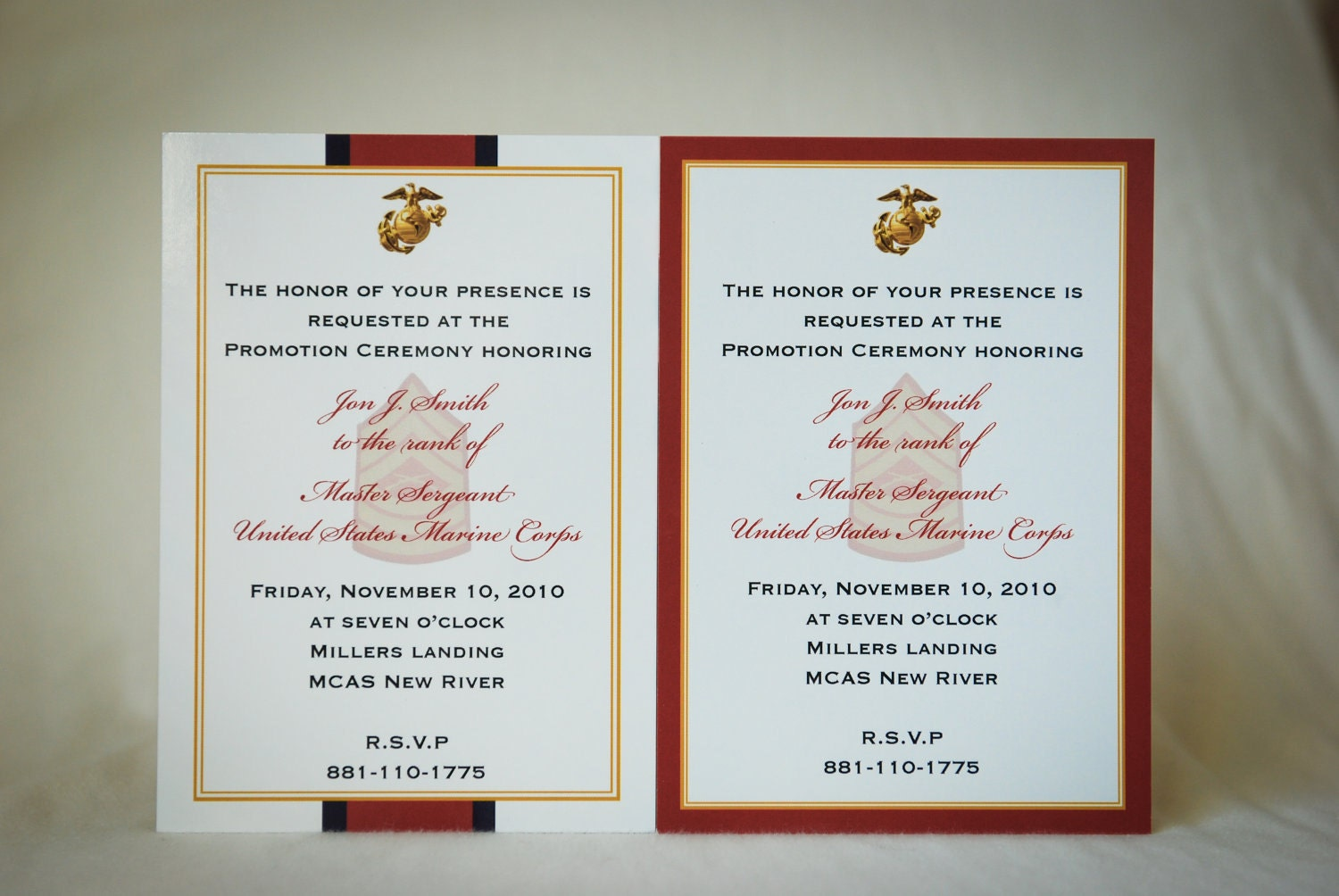 marine corps wedding invitations ideas - 28 images - wedding ...