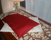 100% All Natural Flax Seed BFF Therapy Pillow-Rich Red