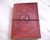 Centerstone Design Embossed Leather Journal 240 Handmade pages Leather Diary D4