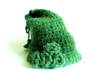 Handmade Crochet Hat, Big hat, Shades of Green Hat, Stylish and Useful, Soft Hat, Flowered Hat, Tasseled Hat