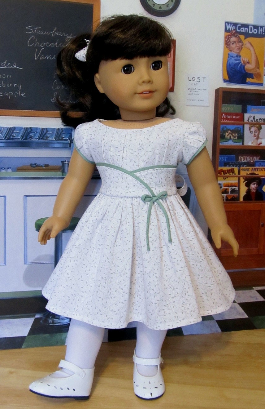 1950 S Inspired Frock Made To Fit 18 American Girl