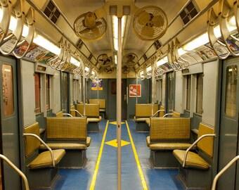 Vintage New York Subway photo, New York Photography - fine art photograph