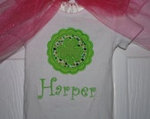 Girl's St Patrick's Day Bodysuit or Boutique Style Ruffle Shirt