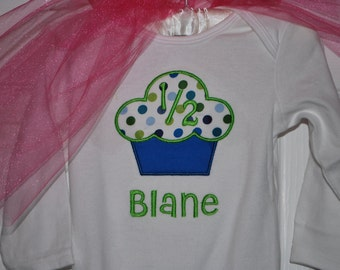 Boy's Birthday Cupcake Bodysuit/Shirt