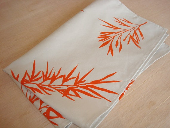 15% off - Tea Towel Hand Screen Printed - Coupon Code ALBA15
