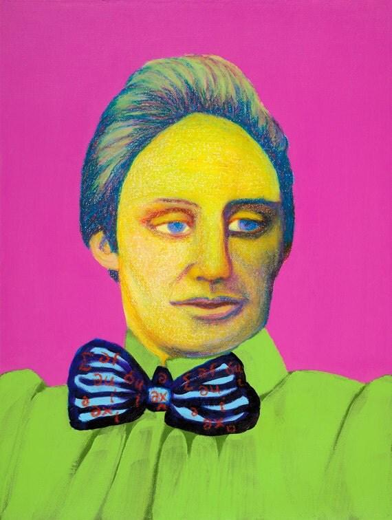 Emmy Noether Art Print