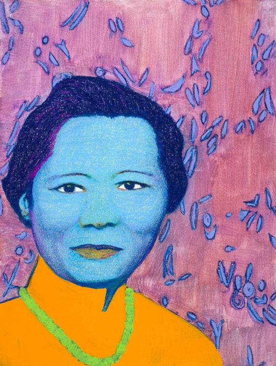 Chien Shiung Wu Art Print