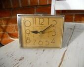 Vintage Westclox Dunmar Dialite Drowse Alarm Clock