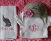 Personalized baby gift set - 3 piece