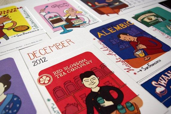 2012 Calendar - The San Francisco gourmet calendar