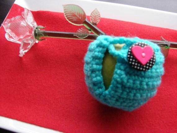 Crochet Apple Cozy Multiple Color Choices