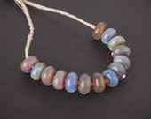 Colorful Spacer Lampwork Beads