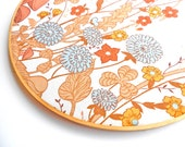 "woodland wall art 12 "" embroidery hoop"