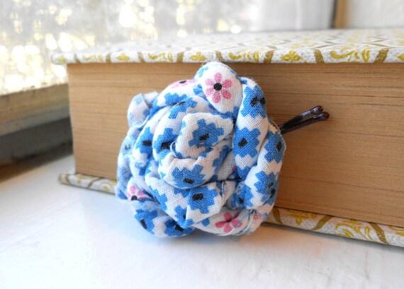 fabric knot hair pin