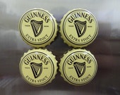 Guinness Bottlecap Magnets