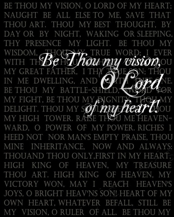 Be thou my vision chilcott pdf